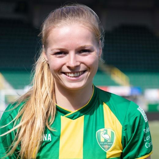 Nadine Noordam verlengt contract bij ADO