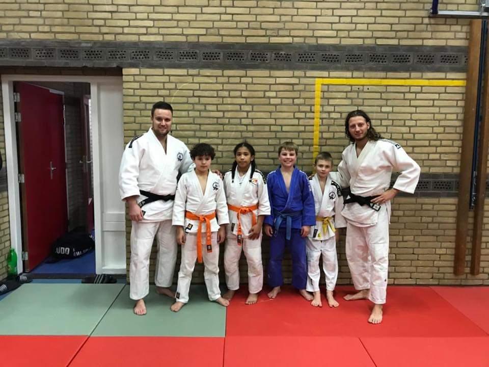 Talentvolle judoka's