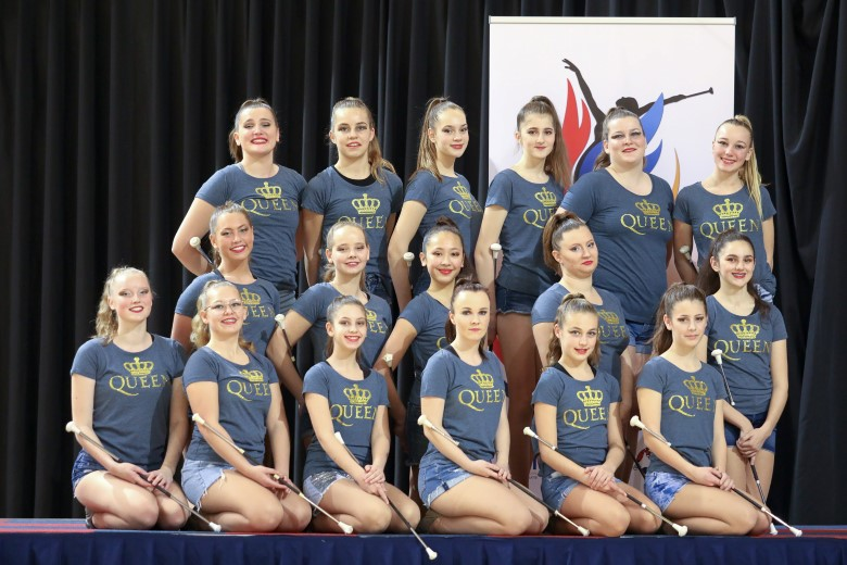 The Maranto 's Nederlands Kampioen twirl 2019