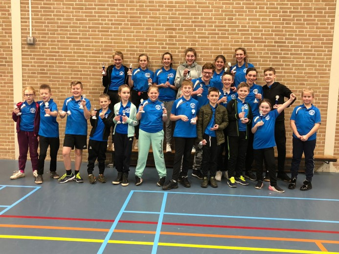 SuccesvolleWestlandse kampioenschappen voor jeugd BC de Zeemeeuwen!
