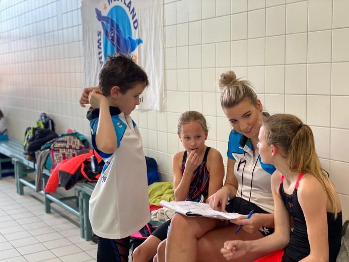 Wedstrijdzwemmen Westland Swimming Stars op podium in Alblasserdam