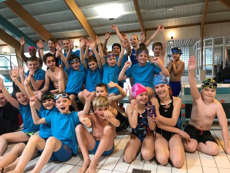 Jongste zwemmers Zwemvereniging Westland van start
