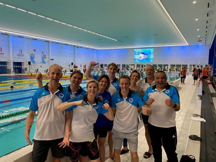 Estafettedames Westland Swimming Stars verbreken record