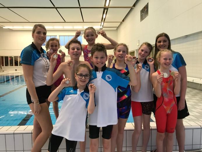 Pupillen Westland Swimming Stars succesvol in Leidschendam
