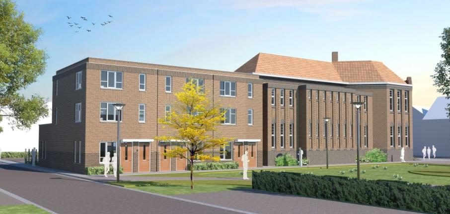 Verbouwing voormalig schoolgebouw Het Spectrum van start