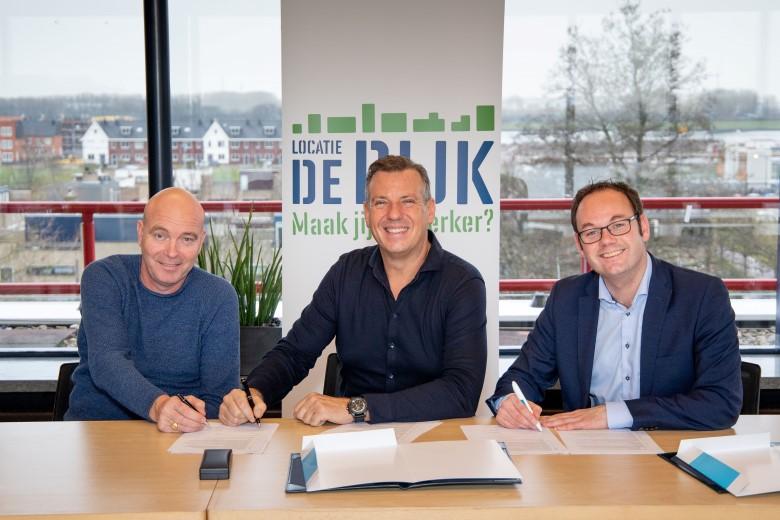 Bedrijventerrein De Dijk wordt verrijkt met gebouw SluysWest