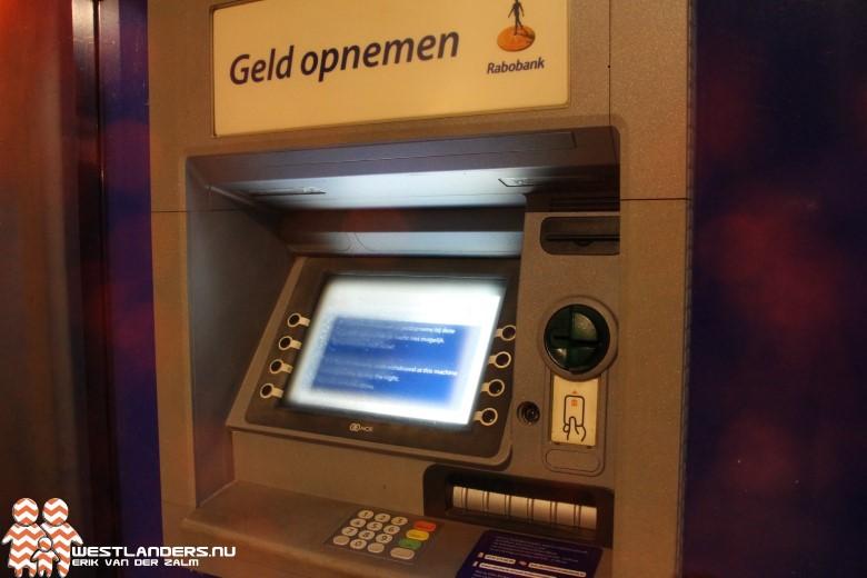 Geldautomaten 's nachts buiten werking