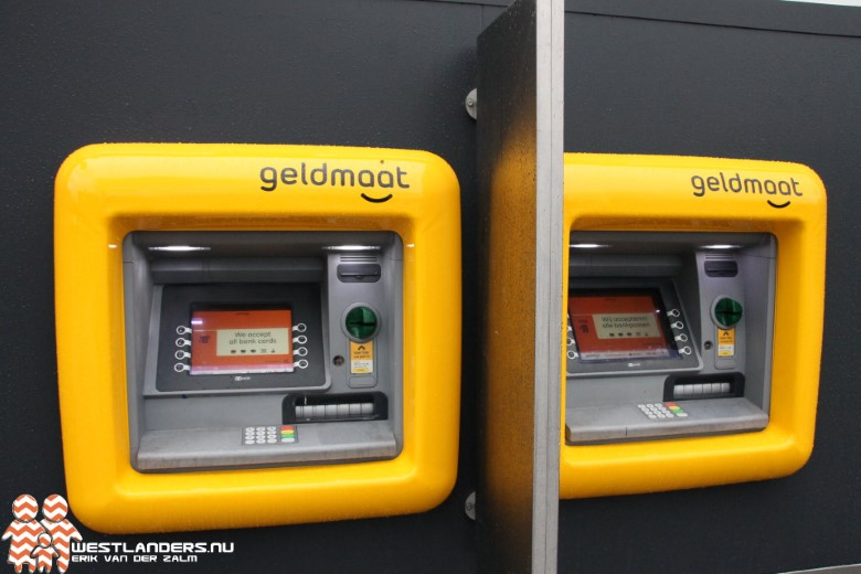 Geldautomaten in het Westland