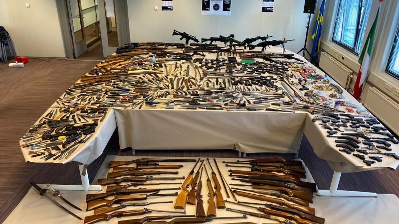 Wapeninleveractie levert 669 wapens op