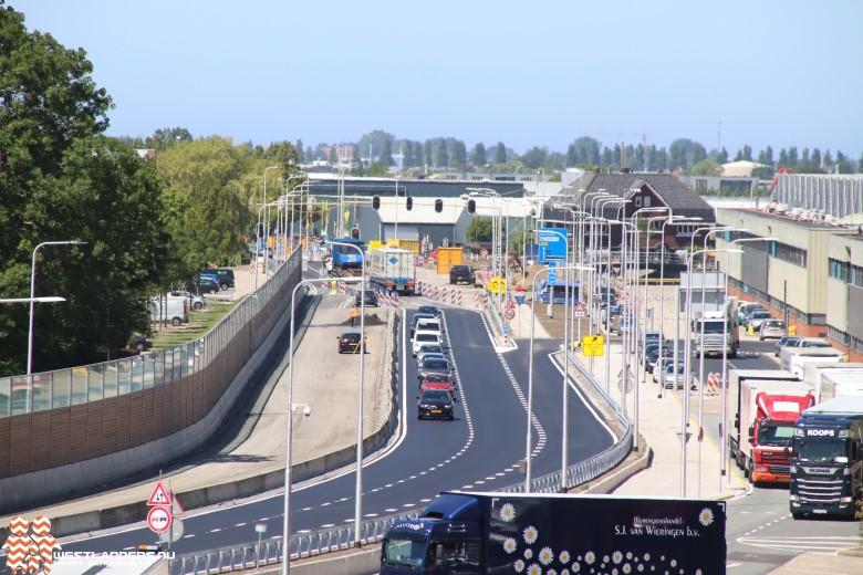 Nieuwe vierbaansweg N213 half juli klaar