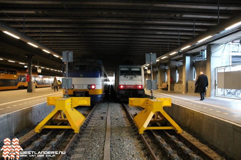 Minder treinen na scheurtjes in spoor Den Haag