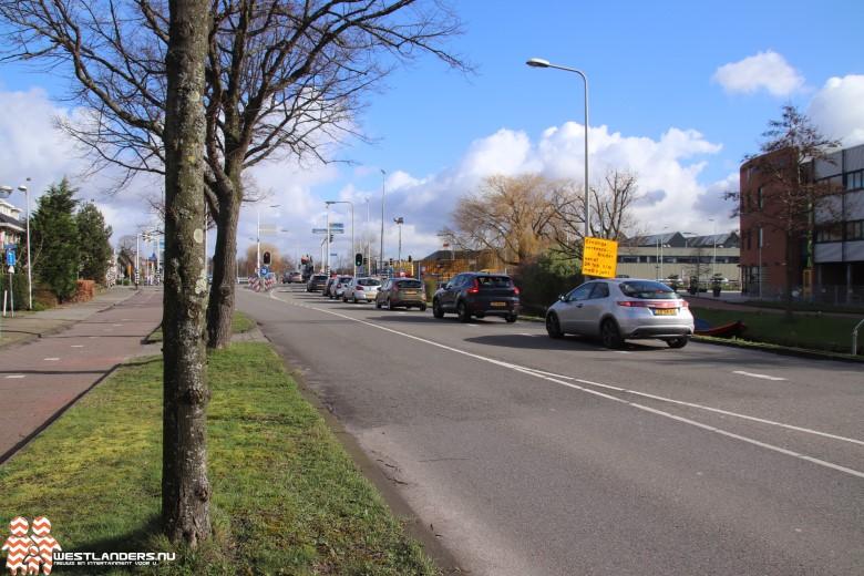 Verkeershinder door reconstructie kruising Dijkweg / N213