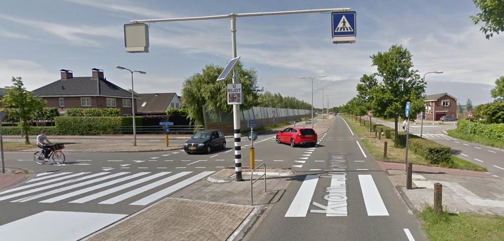 Geen fietstunnel bij oversteekplaats Koningin Julianaweg