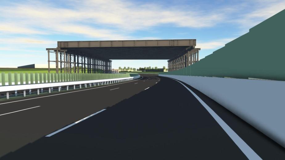 Weekendafsluiting A15 i.v.m. aanleg Blankenburgtunnel
