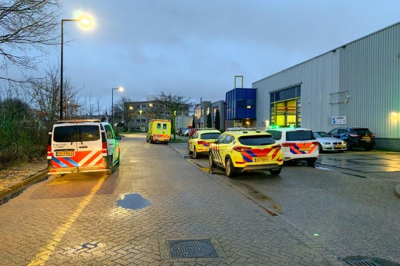 Ernstig gewonde bij bedrijfsongeval Kotterstraat Vlaardingen