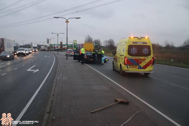 Ongeluk N211 in een dood hoekje