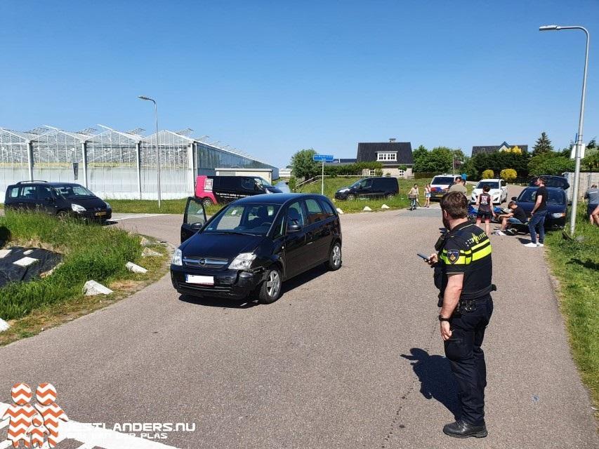 Scooterrijder gewond na ongeluk De Jonghlaan