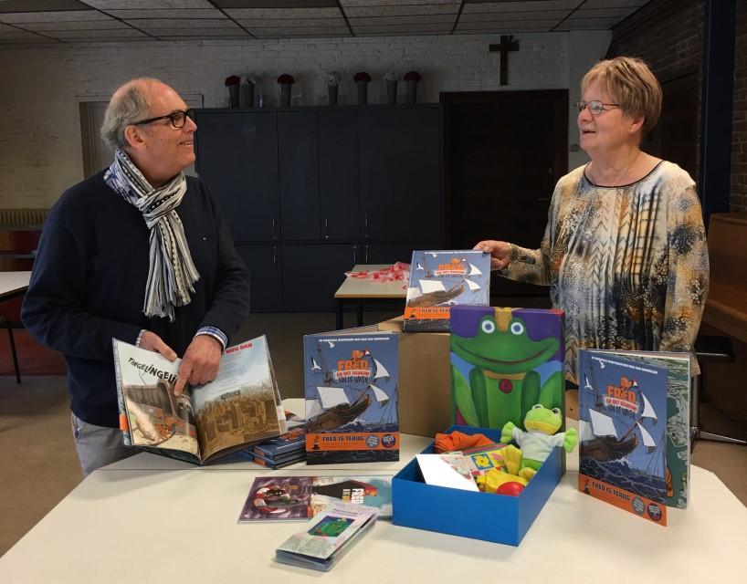Kinderboeken voor Kinderopfleurdoos
