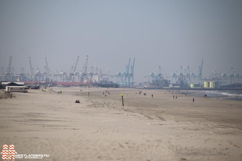Derde dag stofoverlast in Hoek van Holland