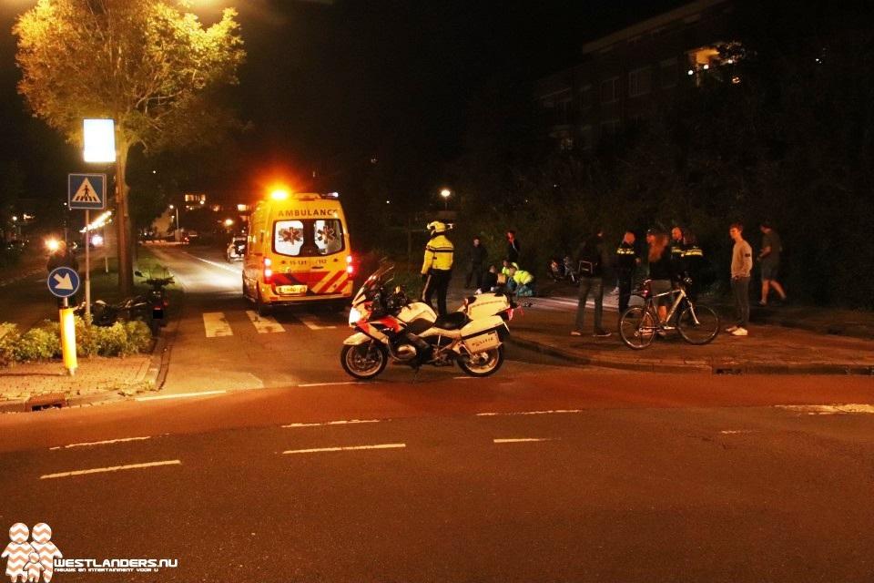 Motorrijder gewond bij ongeluk Koningin Julianaweg