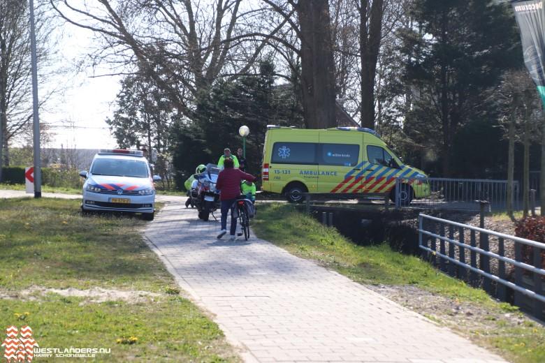 Scooter rijdt door na ongeluk Naaldwijkseweg