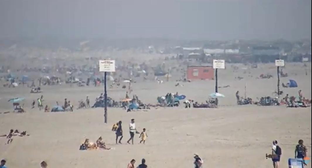 Stranden in de regio lopen vol