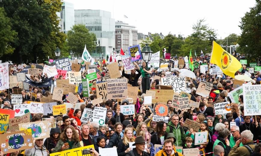 Ook het Westland naar de klimaatmars op 6 november!