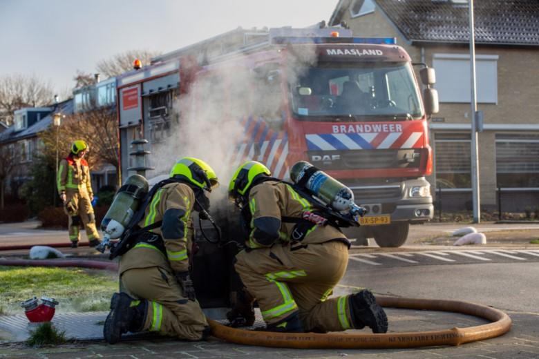 Buitenbrand aan de Doelstraat