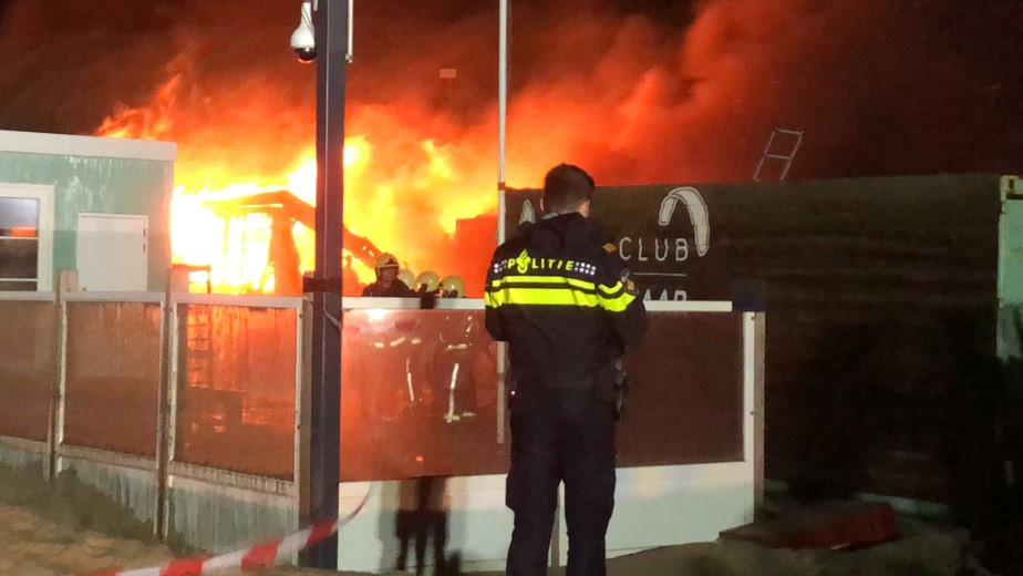 Inzet Westlandse brandweer bij grote brand Wassenaarse Slag