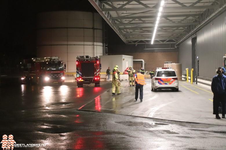 Brand in afzuiginstallatie bij verpakkingsbedrijf