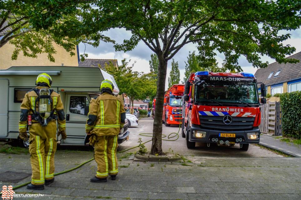 Brand in meterkast Einthovendreef