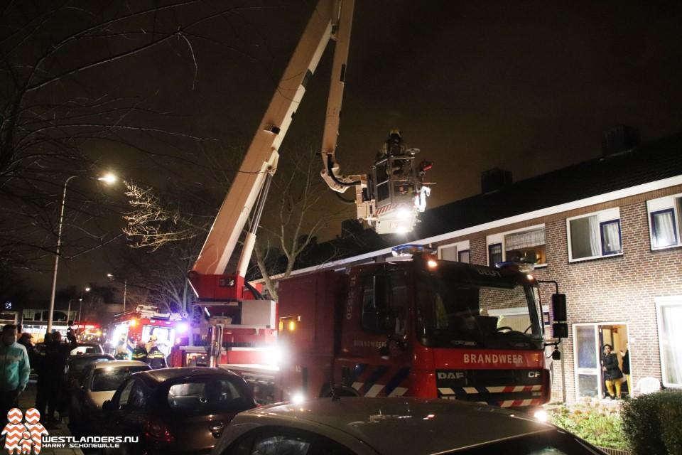 Middelbrand aan de Pieter de Hooghstraat