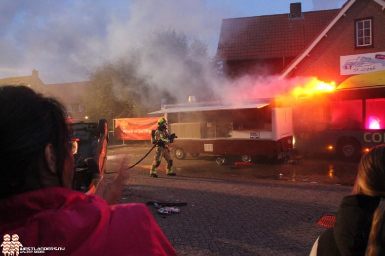 Grootschalige brandweeroefening in Schipluiden