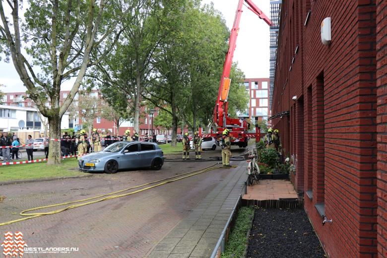 Explosie bij brand in woning Zuiderzijde