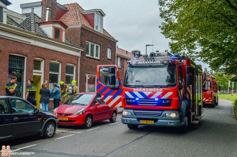 Binnenbrand in woning Noorddijk