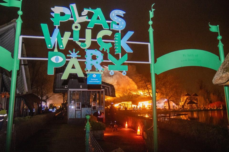 Politie: stop shamen 'daders' brand Plaswijckpark