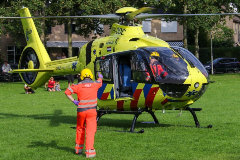 Traumahelikopter ingezet voor incident in De Lier
