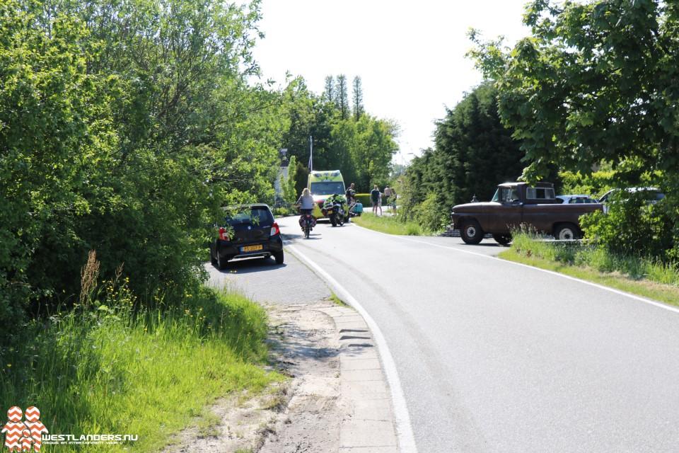 Wielrenner gewond bij ongeluk Oudecampsweg