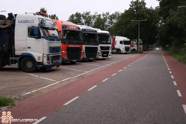 Geluidsoverlast door buitenlandse vrachtwagens