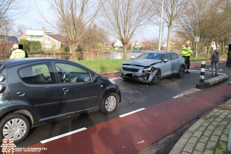 Ongeluk bij wegversmalling Kijckerweg