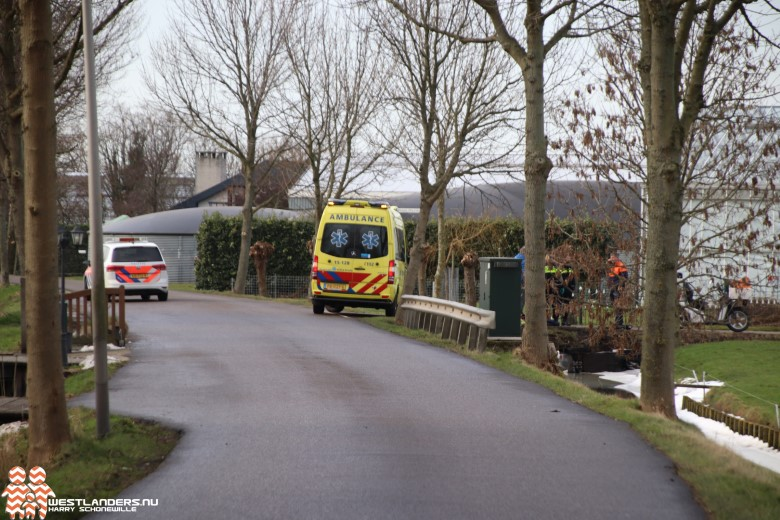 Postbode gewond bij ongeluk Noord-Lierweg