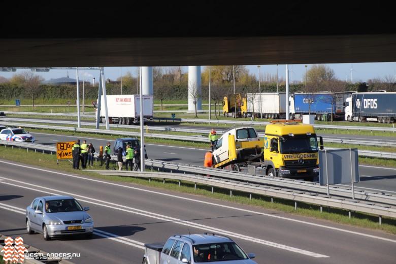 Drie ongelukken op de A4