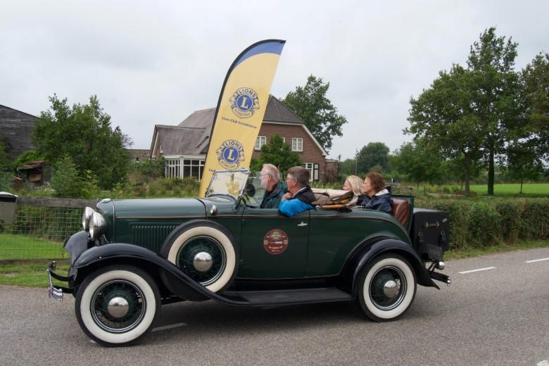 Resultaat Lions Zuidplas Rally gaat naar Leger Des Heils, Zonnebloem en Stichting ZePaRo