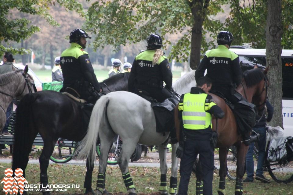 Maassluizer aangehouden na protest bij Malieveld