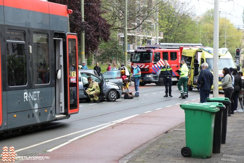 Gewonden bij ongeluk Loosduinse Hoofdstraat