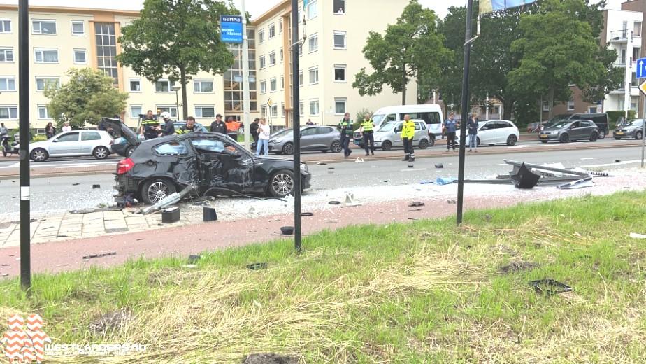 Ravage en gewonde na ongeluk Erasmusweg