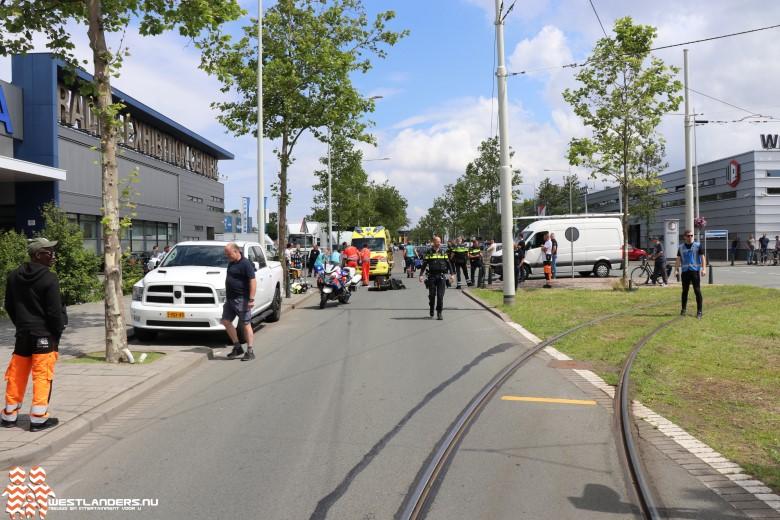 Postbezorgster ernstig gewond na ongeluk De Werf