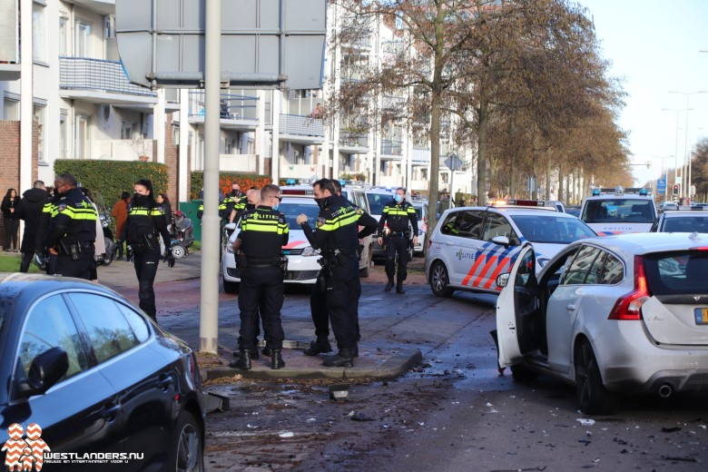 Vlam in de pan na ongeluk Erasmusweg