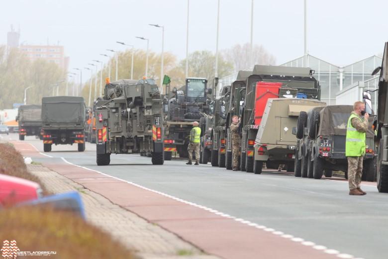 Britse troepen op weg naar Estland