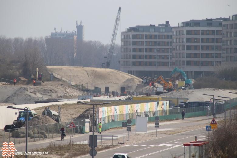 Werkzaamheden rondom verlenging metro Hoek van Holland